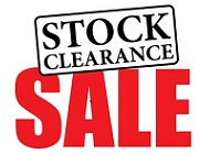 SALE STOCK CLEARANCE